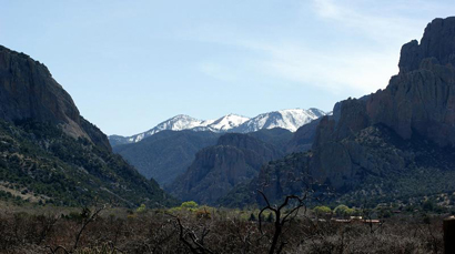 Winter View of Cave Creek Canyon